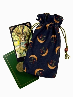 Druids Moon Double Draw Bag - Celtic Tarot Bag | Druids Moon