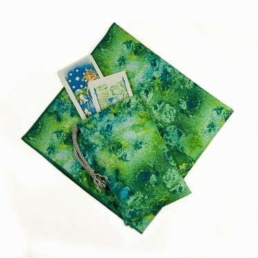 Spring Dreams Tarot Bag & Cloth