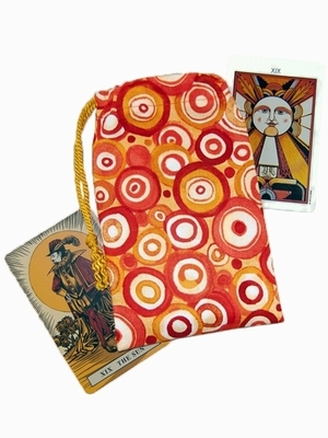 Litha Tarot Bag - Litha Summer Solstice Tarot Bag