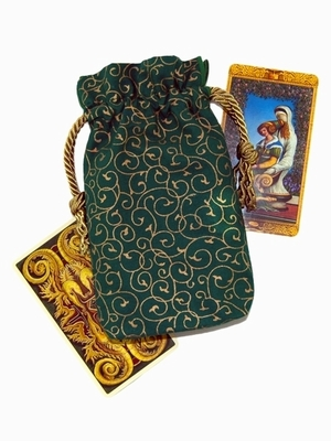 Queen of Coins DD Bag - Queen of Coins Tarot Bag
