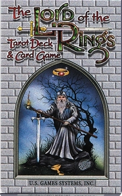 NEW! Lord of the Rings Tarot & Game - Lord of the Rings Tarot Cards and Game