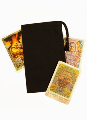 Black Large Bag - Large Black Tarot Bag