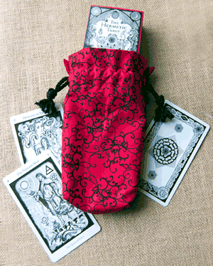Double Draw Tarot Bag