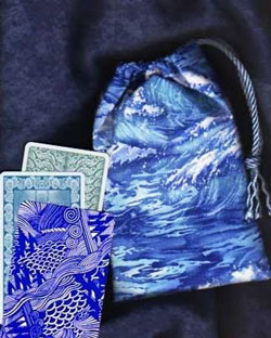 Ocean Waves Tarot Bag with Cards