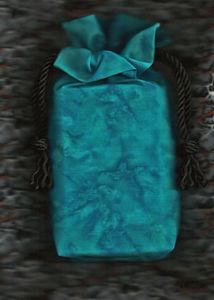 Turquoise Transition Tarot Bag