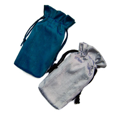 Silver Silk Tarot Bags