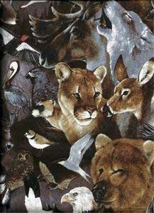 Wildlife Tarot Bag